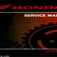 2014 Honda Ctx1300 Owners Manual