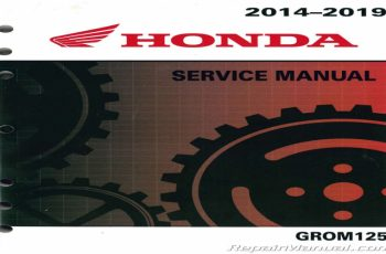 2014 Honda Grom Owners Manual