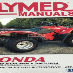 2014 Honda Rancher 4x4 Owners Manual