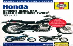 2014 Honda Rebel 250 Owners Manual