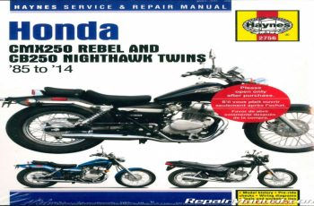 2014 Honda Rebel Owners Manual