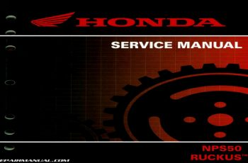 2014 Honda Ruckus Owners Manual