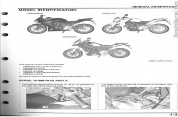 2015 Honda Cb500x Owners Manual