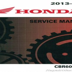 2015 Honda Cbr600rr Owners Manual