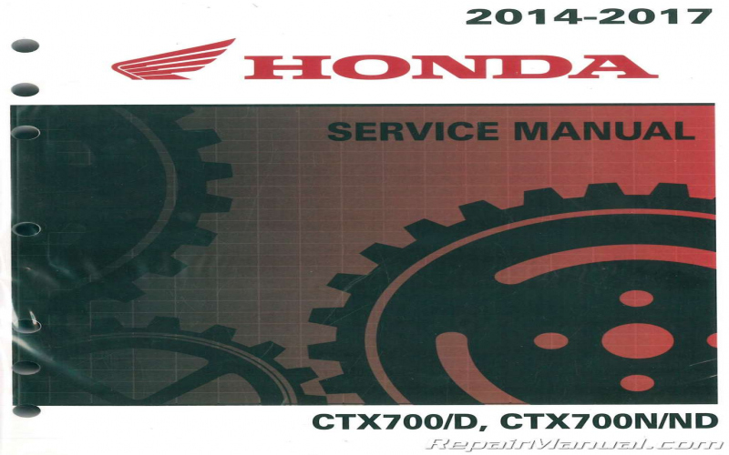 2015 Honda Ctx700 Owners Manual
