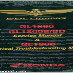 2015 Honda Goldwing Owners Manual