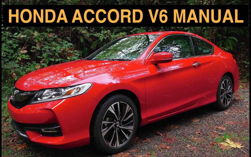 2016 Honda Accord Coupe V6 Owners Manual