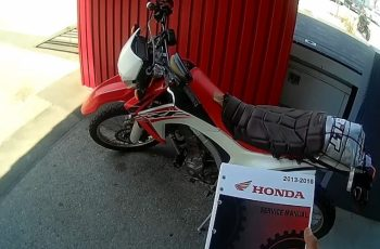 2016 Honda Crf250l Owners Manual