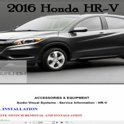 2016 Honda Hrv Owners Manual Pdf