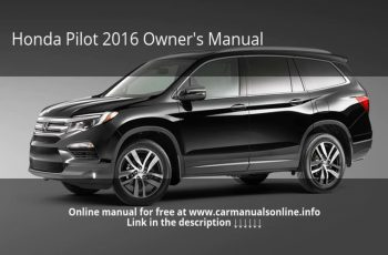 2016 Honda Pilot Owners Manual Video