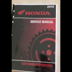 2016 Honda Pioneer 1000 5 Owners Manual