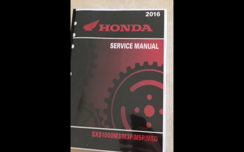 2016 Honda Pioneer 1000 5 Owners Manual Pdf