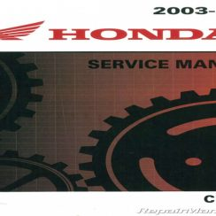 2017 Honda Crf150f Owners Manual