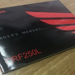 2017 Honda Crf250l Owners Manual