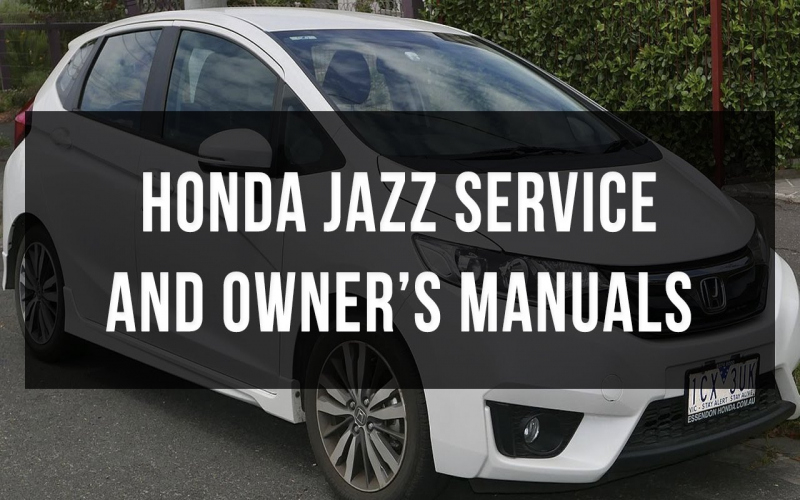 2017 Honda Fit Owners Manual