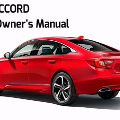 2018 Honda Accord Ex Owners Manual