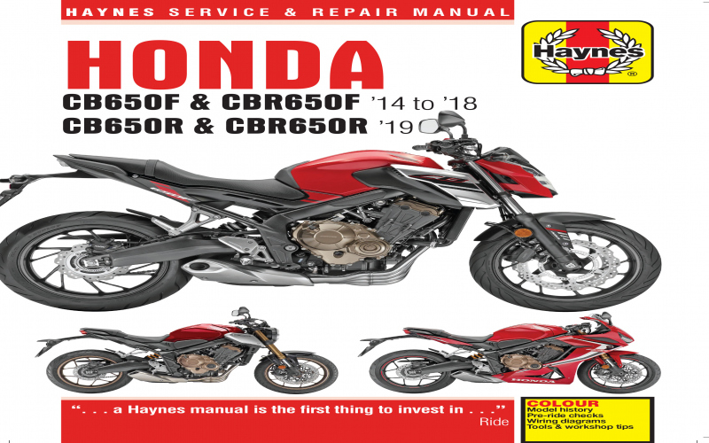 2018 Honda Cb650f Owners Manual