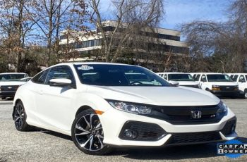 2018 Honda Civic Si Coupe Owners Manual