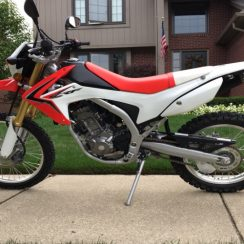 2018 Honda Crf250l Owners Manual