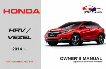 2018 Honda Hrv Owners Manual