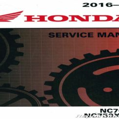 2018 Honda Nc750x Owners Manual