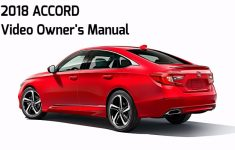 2019 Honda Accord Owners Manual