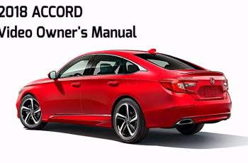 2019 Honda Accord Touring Owners Manual