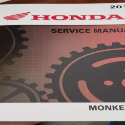 2019 Honda Monkey Owners Manual
