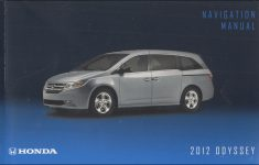 2019 Honda Odyssey Touring Owners Manual