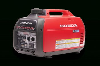 Honda 2000 Watt Generator Owners Manual