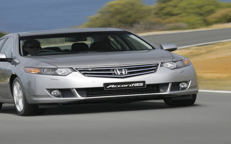 Honda Accord Euro 2009 Owners Manual