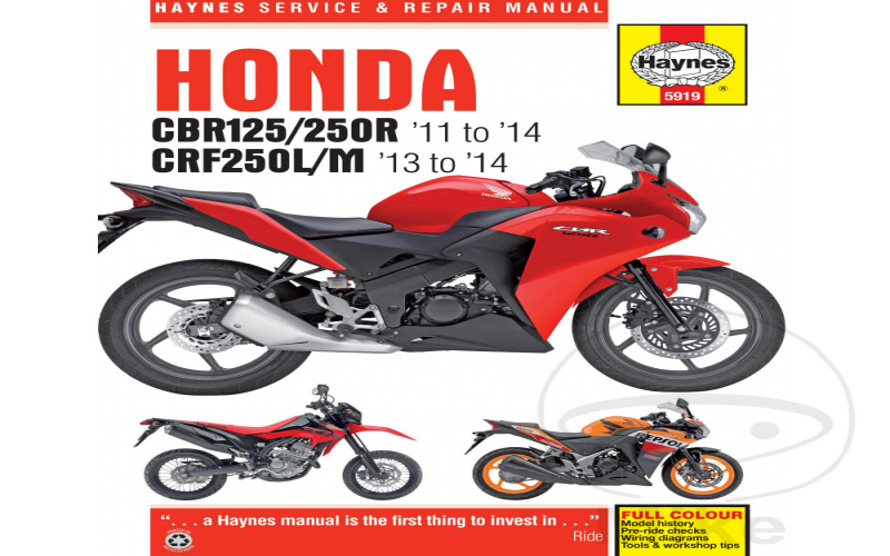 Owners Manual For 2012 Honda Cbr250r