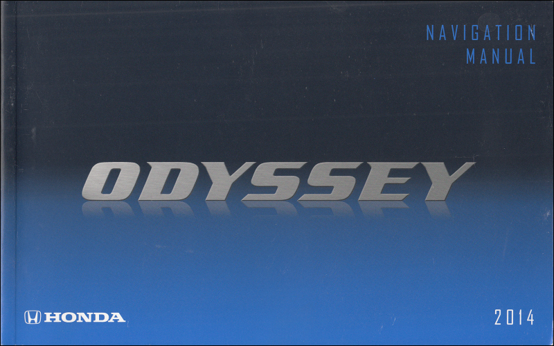 Owners Manual For 2014 Honda Odyssey