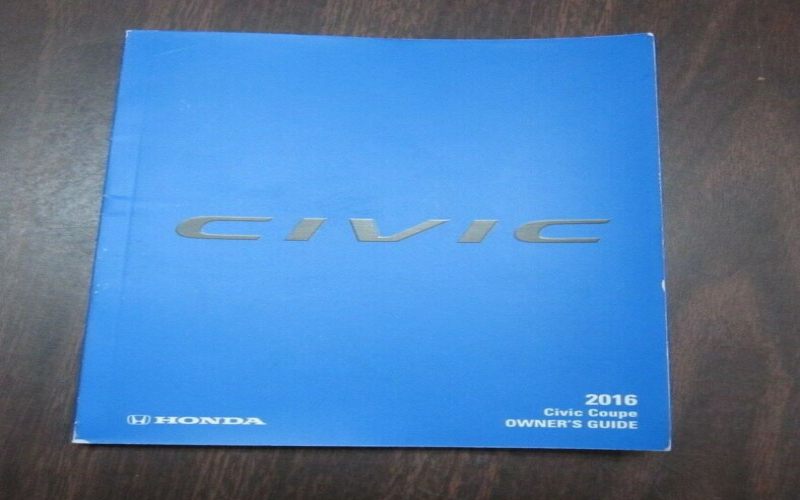 Owners Manual For 2016 Honda Civic