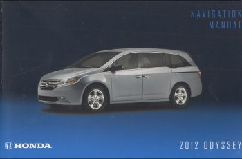 Owners Manual For 2019 Honda Odyssey