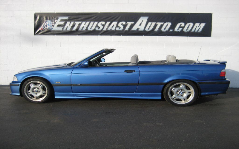 1998 BMW M3 Convertible Owners Manual