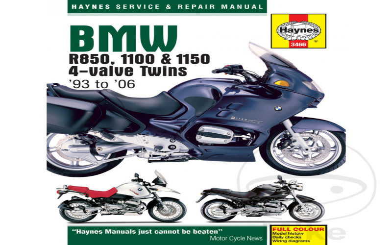 2000 BMW R1100s Owners Manual