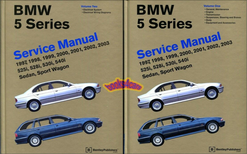 2001 BMW E39 Owners Manual