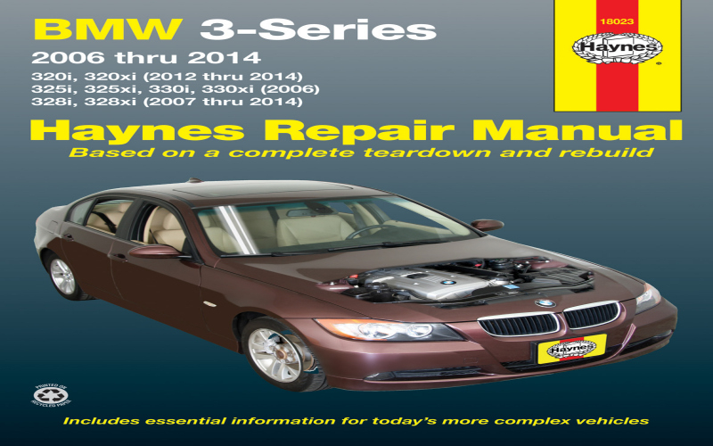 2003 BMW 330i Owners Manual