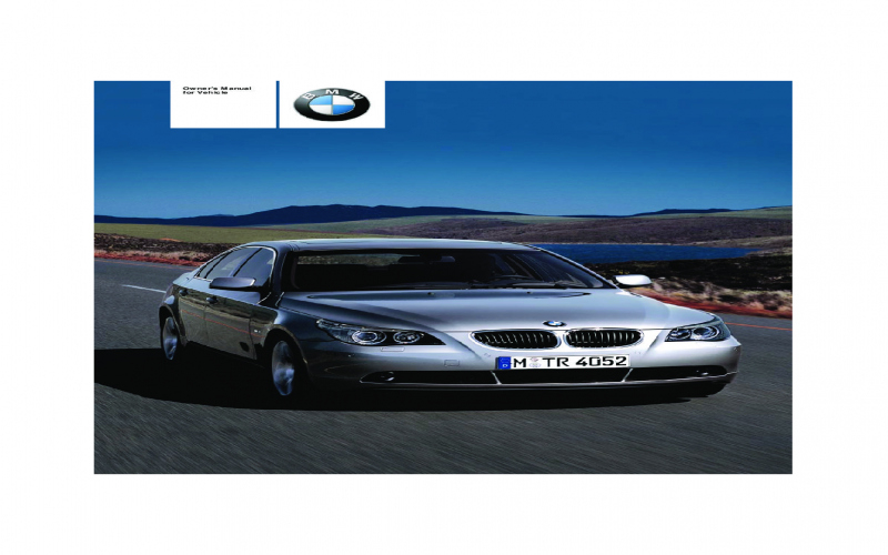2004 BMW 525i Owners Manual Pdf