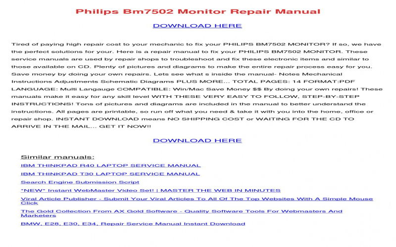 2004 BMW 745li Owners Manual Pdf