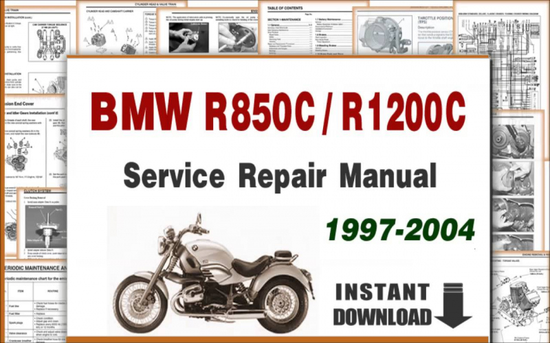 2004 BMW R1200cl Owners Manual