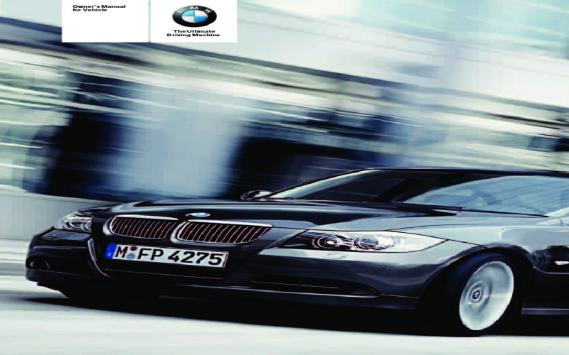 2005 BMW 325i Owners Manual