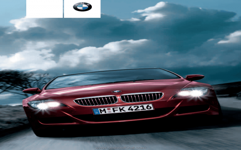 2007 BMW M6 Owners Manual Pdf
