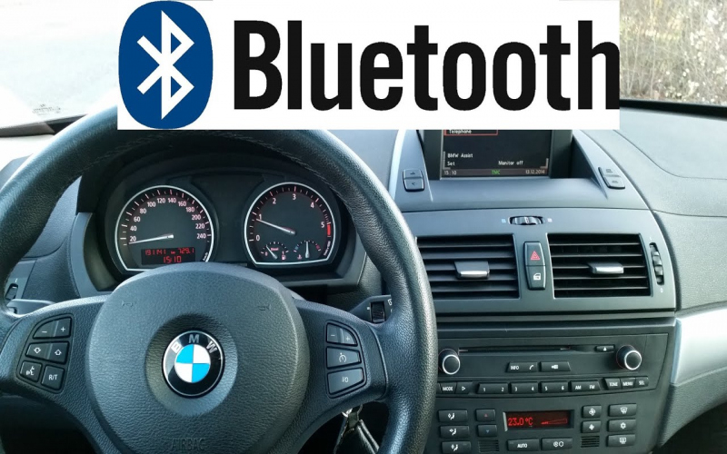 2007 BMW X3 Owners Manual For Telephone