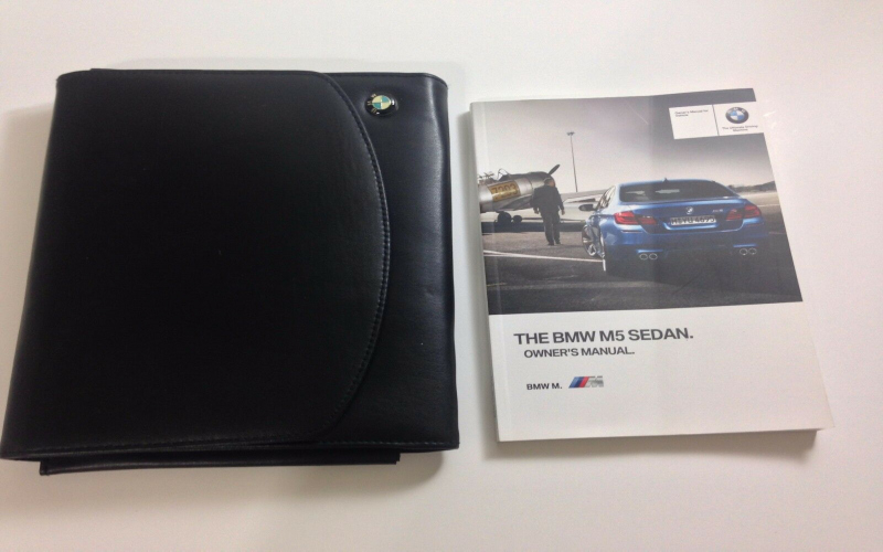 2012 BMW M5 Owners Manual