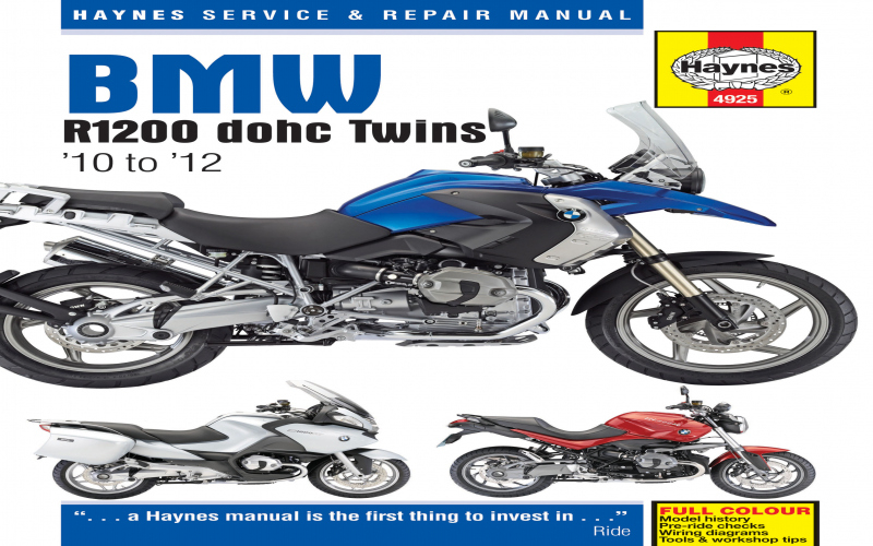 2012 BMW R1200gs Owners Manual Pdf