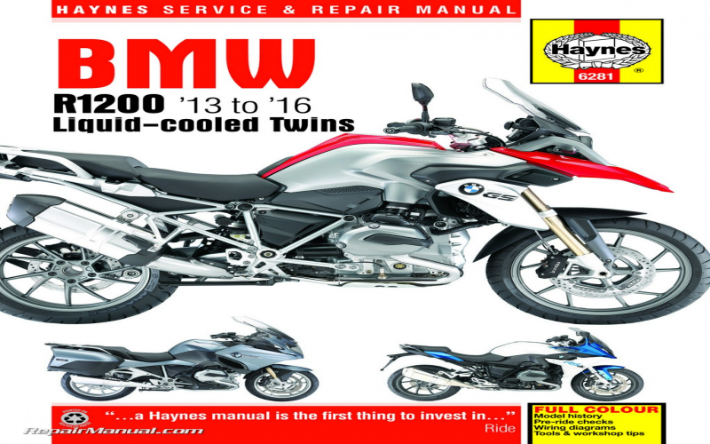 2012 BMW R1200gsa Owners Manual