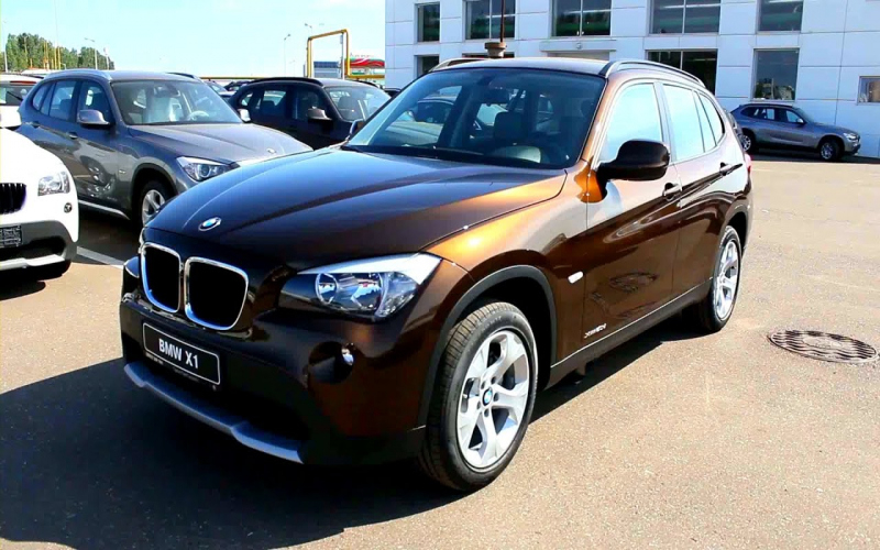 2012 BMW X1 Owners Manual