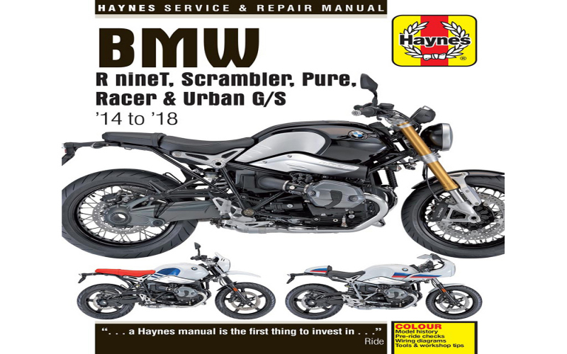 2014 BMW R Nine T Owners Manual